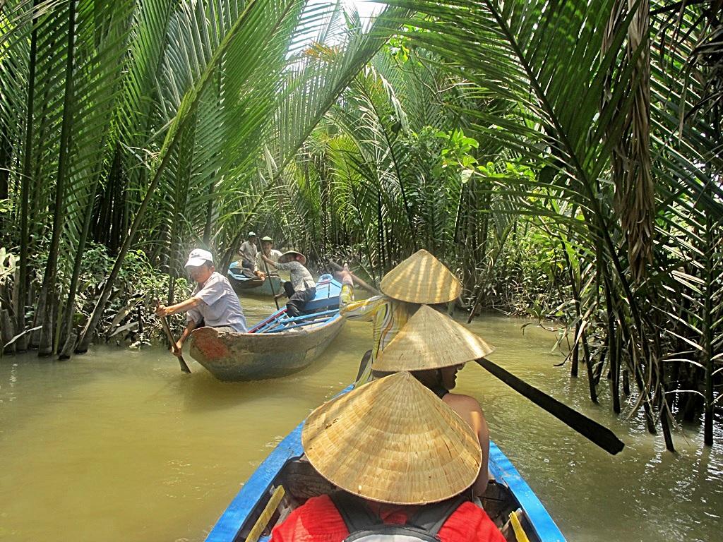 Village Girl Photo Wallpaper Mekong Delta Vietnam Burgess Adventures