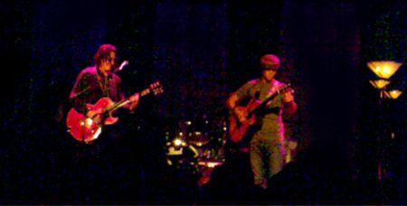 Gregory Page and Jason Mraz at the Tivoli