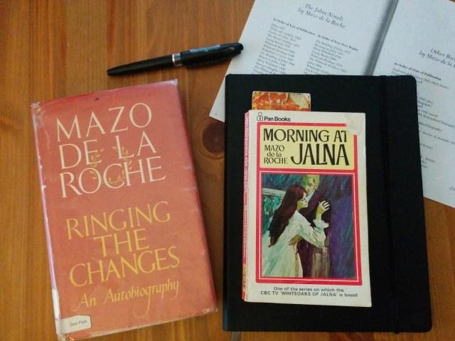Mazo de la Roche Morning at Jalna