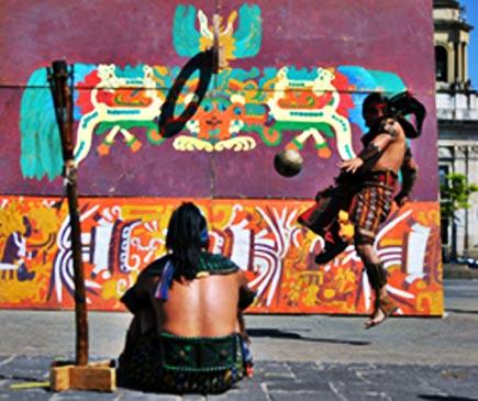chajchaay, a maya ball game