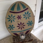 Rustic Easter Egg