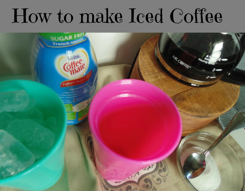 How to make an Iced coffee:
