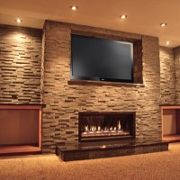 Custom Fireplace Installation