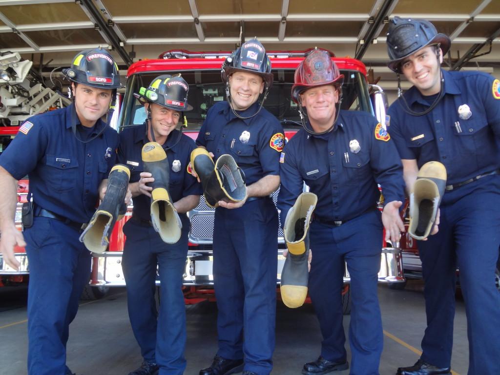 Burn Institute Firefighter Boot Drive