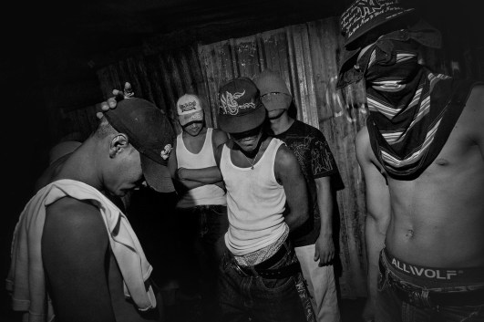 "Nicaragua, Managua city. Rampant is the phenomenon of ""pandillas"", gangs made up of boys who often end up killed or detained in various prisons in the country."