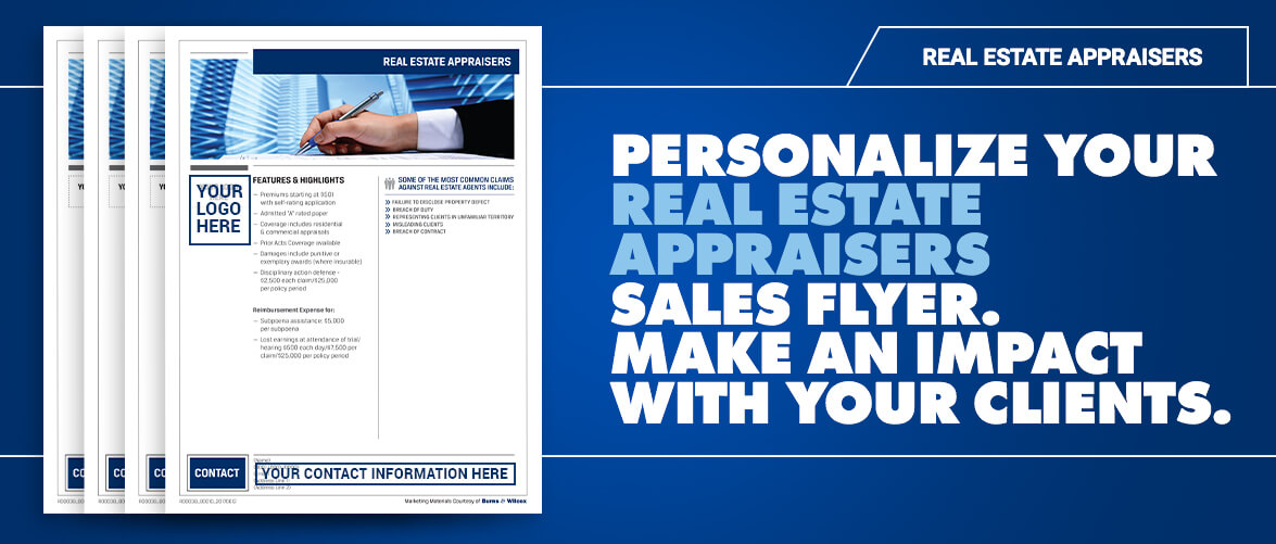Real Estate Appraisers Flyer Burns  Wilcox