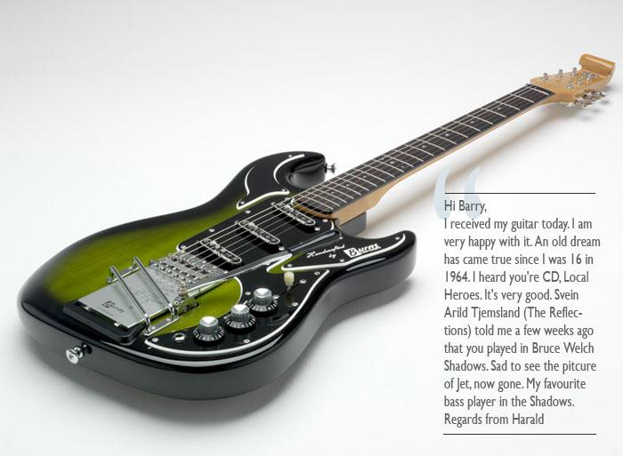 Burns Signature Marvin Guitars
