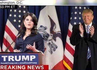 Trump Hires Monica Lewinsky As Advisor to Presidential Campaign