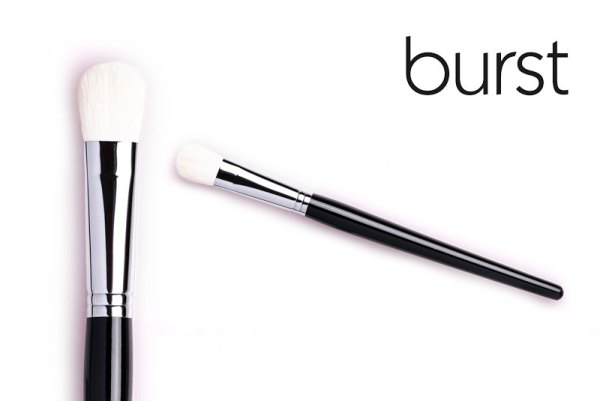 Rounded Contouring Brush – White Special Goat – BL 05