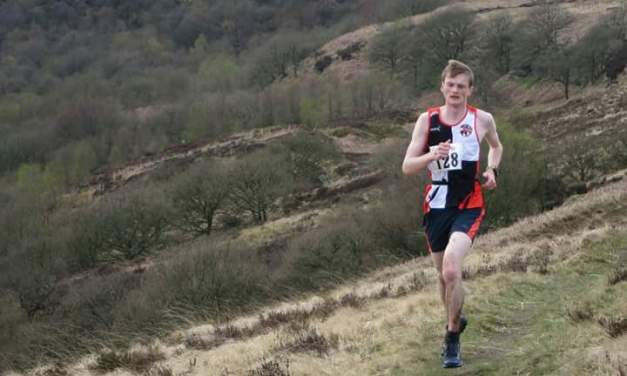 Ben Coop sets new course record in the Coiners Fell Race