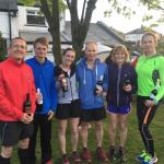 Bury 1-2-3 in Ruth Walczak Trail Race
