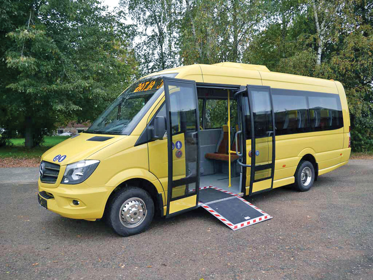 Improving Accessibility Bus Coach Buyer