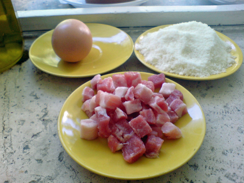 Ingredientes Salsa Carbonara