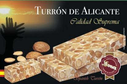 Turrón de Alicante
