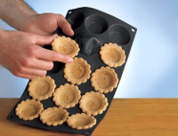 Desmoldar las tartaletas