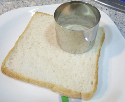 Recortar el pan