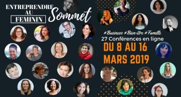 Sommet Virtuel «Entreprendre au Féminin»