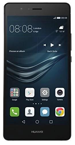 Huawei P9 lite Smartphone débloqué 4G (Ecran: 5,2 pouces – 16 Go – Android 6.0 Marshmallow) Noir