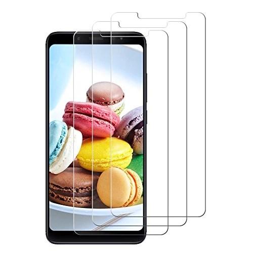 [3 pièces]Verre Trempé Xiaomi Redmi Note 5,Jwlife Protection écran Xiaomi Redmi Note 5 Haute Transparence Anti-Bubble Résistant Aux Rayures Facile à Installer
