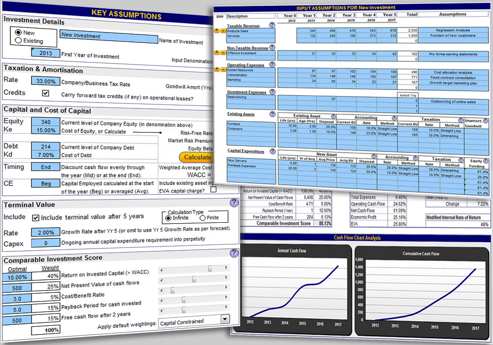 Excel Business Valuation Template