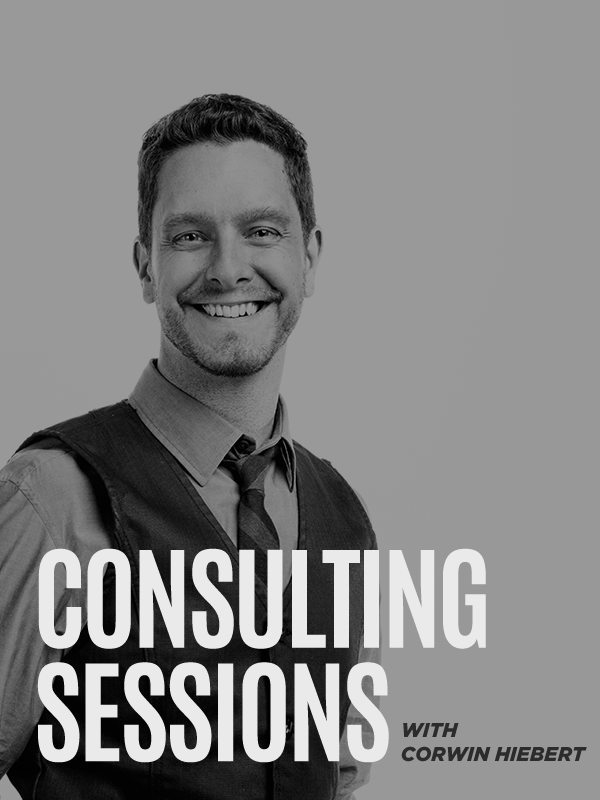 Corwin Hiebert Consulting Sessions – Gray