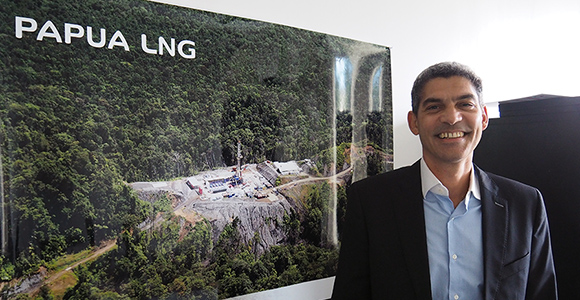Total E&P PNG's Philippe Blanchard