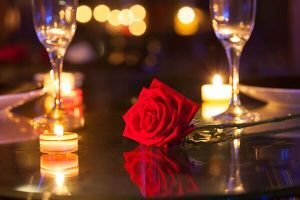 An elegant Valentine's Day experience