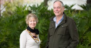 Curtin University's Dr Gina Koczberski and Professor George Curry.