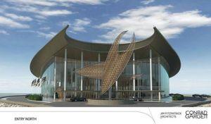 APEC Haus. Artist's impression.