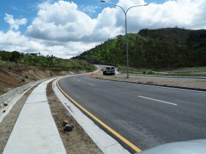 A new road in Baruni, Port Moresby Source: Business Advantage International
