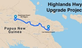 Ten-year project to repair and maintain Papua New Guinea's critical Highlands Highway to start by year's end, says Wereh