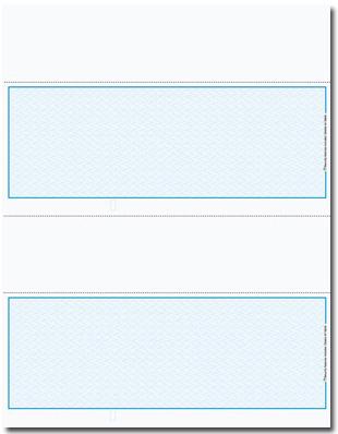 L2V836 Laser/Inkjet Blank Voucher Checks - blank voucher
