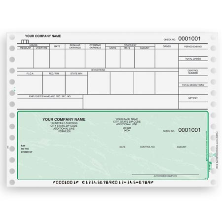 Payroll Check Templates Free | Job Application Sample