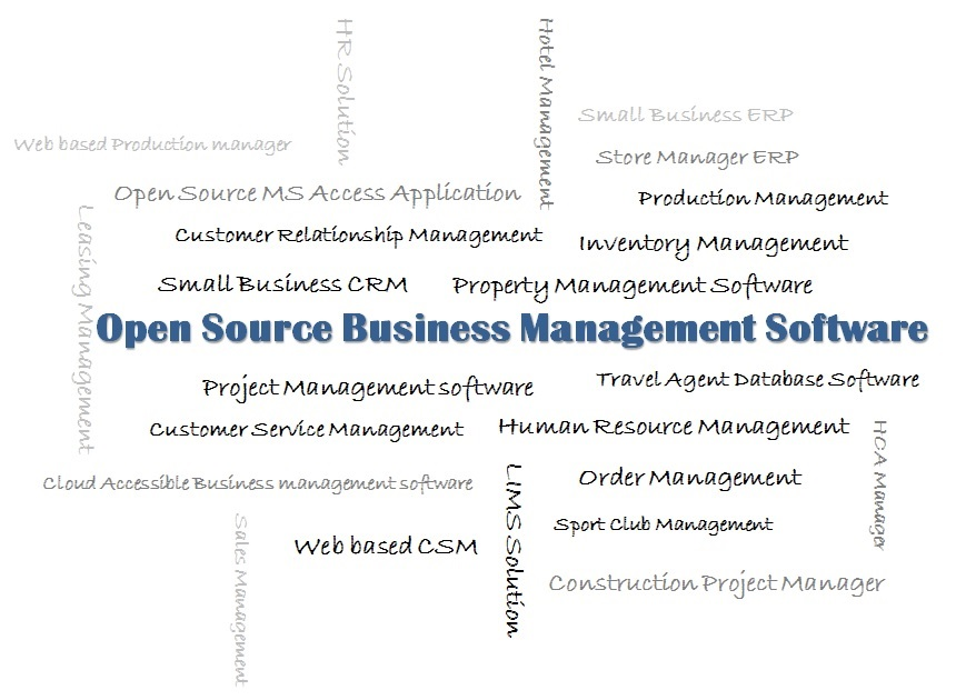 Open Source Small Business Management Software Solution - using access for project management