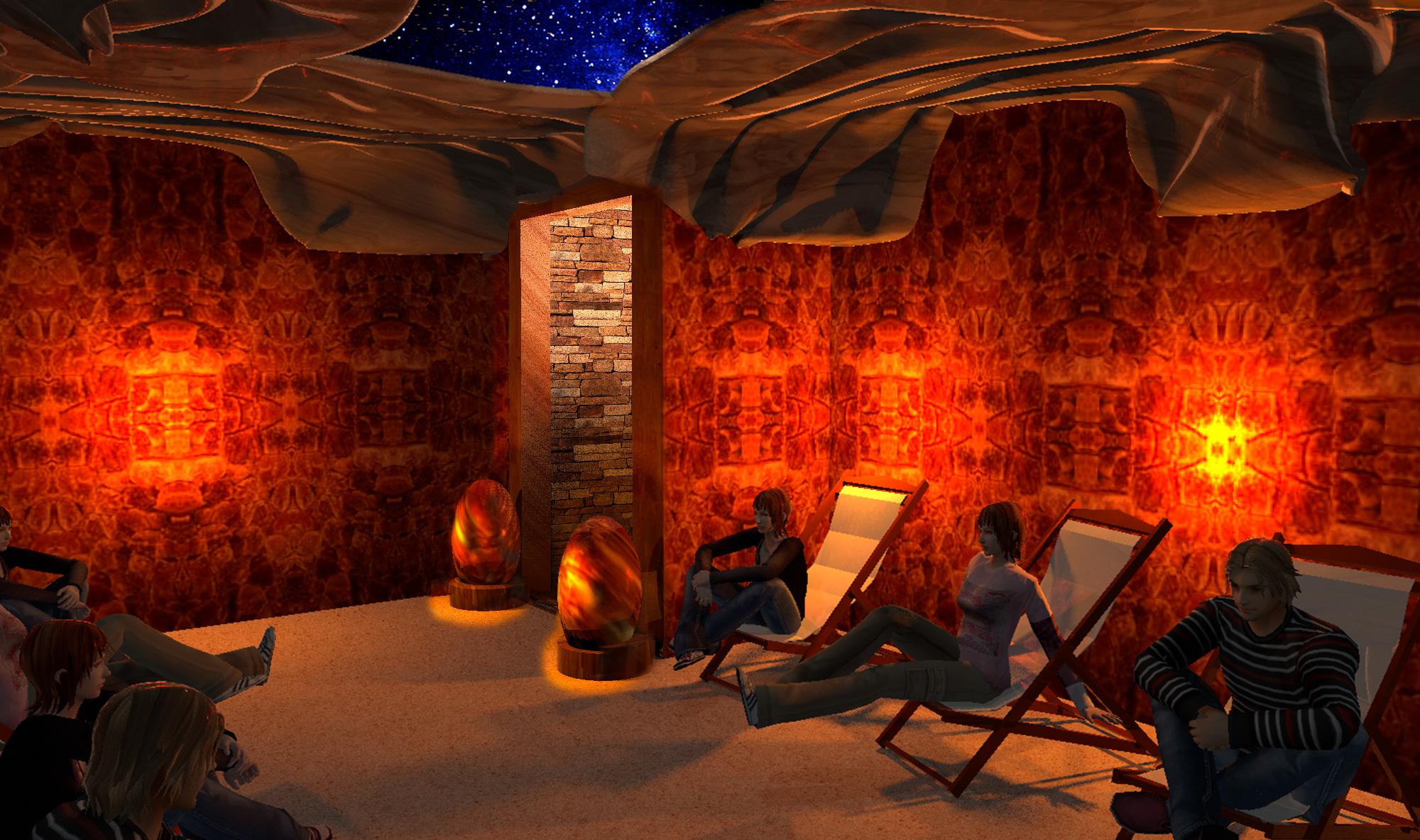 how to build a himalayan salt room