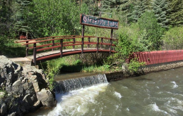 Over a mile of fishing stream runs through the property, along the North Fork of the South Platte River. (Courtesy of Bob Regester)