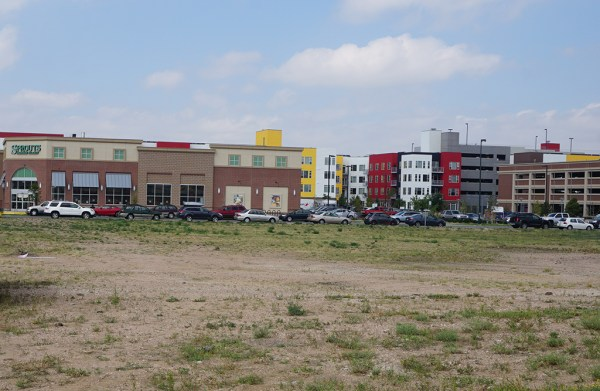 Developers are planning a 500,000-square-foot apartment complex at the former Gates Corporation complex off of Broadway. (Burl Rolett)