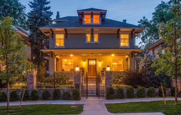 The home at 675 N. Humboldt St. was listed for $3.6 million. (Courtesy Sotheby's)