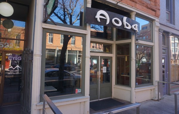 Aoba Sushi has closed its doors at 1250 Blake St. in LoDo. (Burl Rolett)