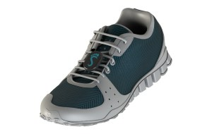 ShoeSense is a sensor runners can clip onto the laces of their sneakers. (Courtesy Shoe Sense)
