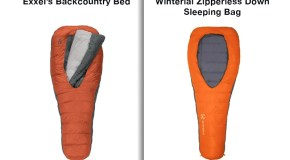 Outdoors companies spar over sleeping bag design