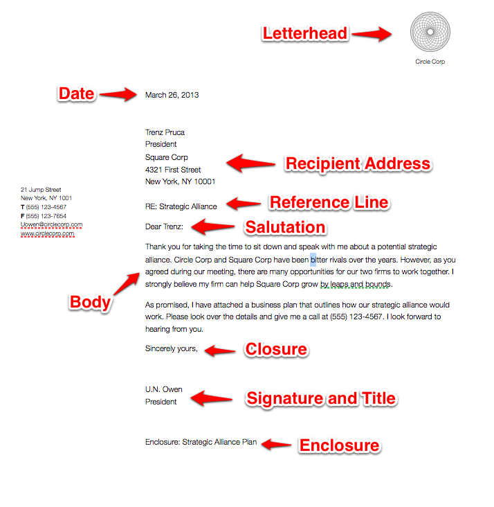 Business Letter Format Spacing | Resume Pdf Download