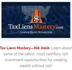 tax liens mastery