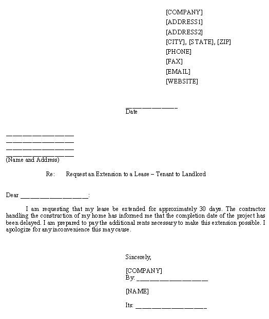 Sample Letter for Denial of Request for Time Extension - Purchase of - purchase requisition letter