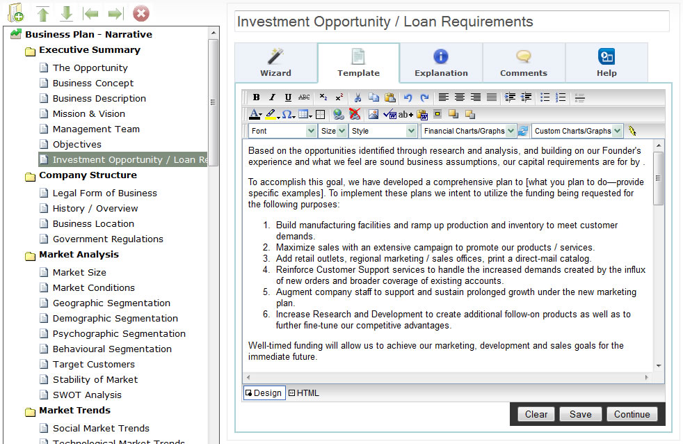 Web-based BizPlanBuilder® Online - Business Plan Software