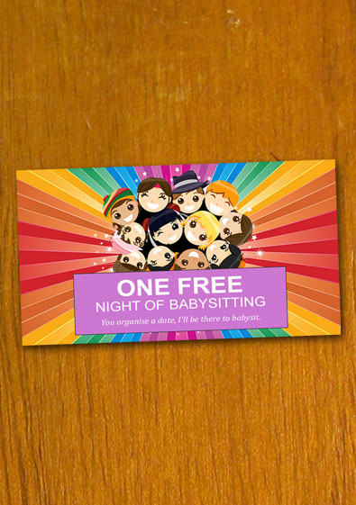 Free Sample Babysitting Coupon Template
