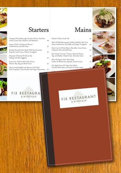 Free Sample Restaurant Menu Template - sample menu template