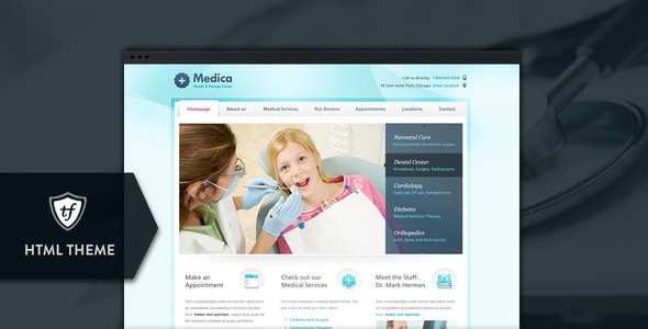 11 Medical Website Templates To Download - doctor office website template