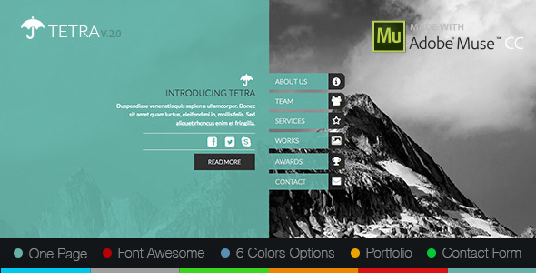 12 Adobe Muse Templates To Download