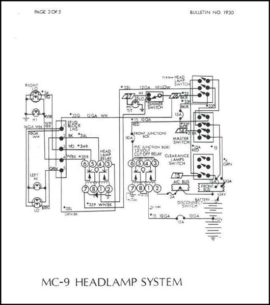 mci bus wiring schematic